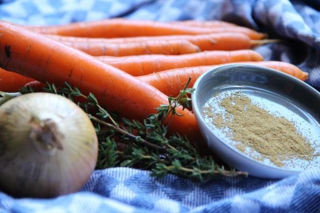 wortel ajuin komijn voor klaarmaken