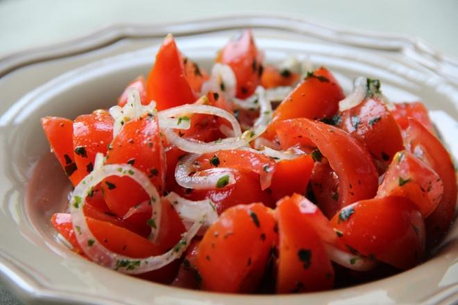 Tomaat salade BBQ