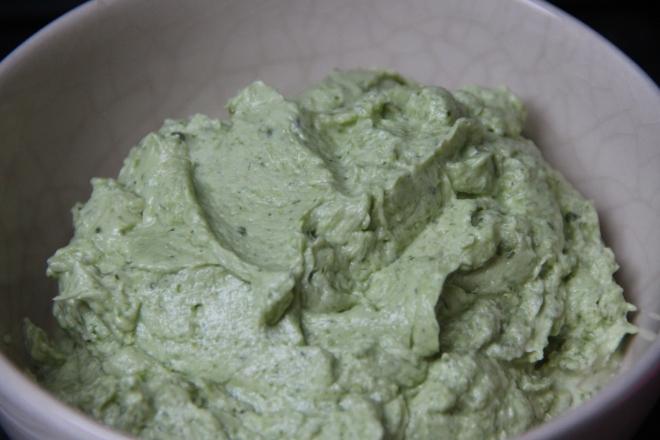 basilicum crème klaar